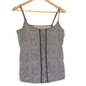 Denver Hayes tank with built in bra L